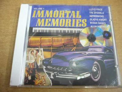 CD Immortal Memories / THE DIAMONDS, THE GOODIES..
