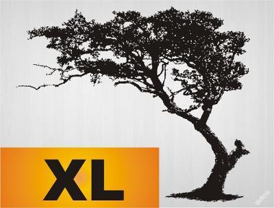 Samolepka zeď pampelišky strom 120x98cm _ 57 vzorů