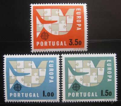 Portugalsko 1963 Evropa CEPT Mi# 948-50 8€ 0560