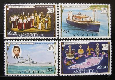 Anguilla 1977 Vláda Alžběty Mi# 269-72 0878
