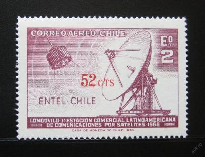 Chile 1971 ENTEL přetisk Mi# 747 0924