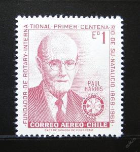 Chile 1970 Paul Harris Mi# 726 0924