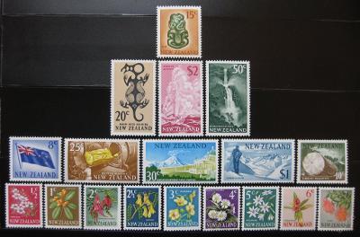 Nový Zéland 1967 Decimal nekompl. Mi#  61.60€ 0920