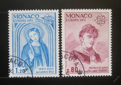 Monako 1975 Evropa CEPT Mi# 1167-68 4€ 0162