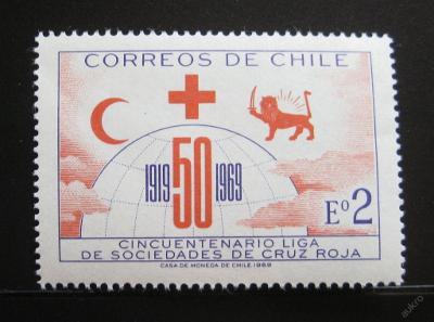 Chile 1969 Červený kříž Mi# 704 0171