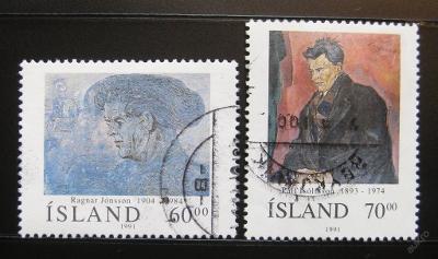 Island 1991 Umění Mi# 751-52 0985A