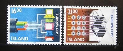 Island 1988 Evropa CEPT Mi# 682-83 0985A