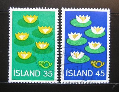 Island 1977 Severská spolupráce Mi# 520-21 0984