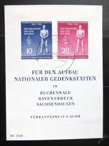 DDR 1955 Oběti fašismu Mi# Block 11 35€ 0963