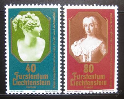 Lichtenštejnsko 1980 Evropa CEPT Mi# 741-42 1007