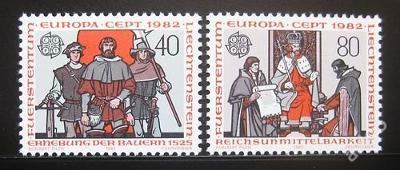 Lichtenštejnsko 1982 Evropa CEPT Mi# 791-92 0754