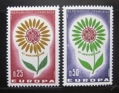 Francie 1964 Evropa CEPT Mi# 1490-91 0730