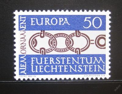Lichtenštejnsko 1965 Evropa CEPT Mi# 454 0775