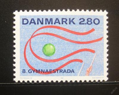 Dánsko 1987 Gymnastriáda Mi# 897 0779
