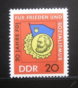 DDR 1966 Organizace mládeže Mi# 1167 0010
