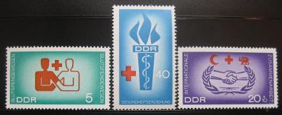 DDR 1966 Zdravotní vzdělávání Mi# 1207-09 3€ 0010