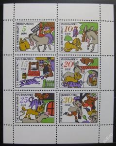 DDR 1971 Pohádky Mi# 1717-22 0017