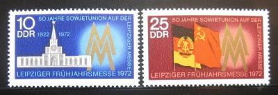 DDR 1972 Lipský veletrh Mi# 1743-44 0017