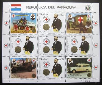 Paraguay 1985 Červený kříž Mi# 3896 Arch 32€ 0046