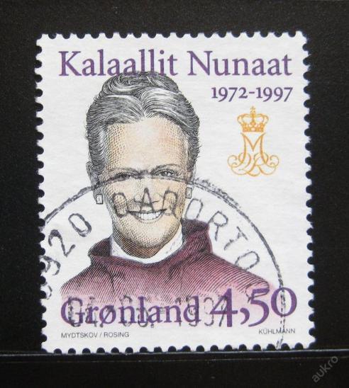 Grónsko 1997 Královna Margrethe II Mi# 300 0056 - Filatelie