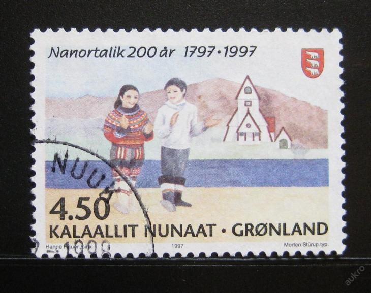 Grónsko 1997 Nanortalik Mi# 312 0056 - Filatelie