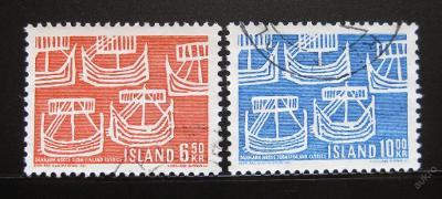 Island 1969 Severská spolupráce Mi# 426-27 0057