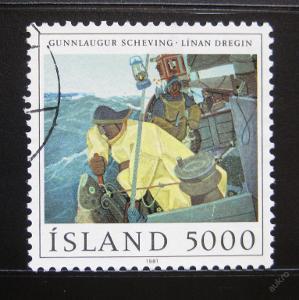 Island 1981 Umění, Scheving Mi# 572 4.50€ 0057