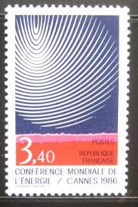 Francie 1986 Konference o energii Mi# 2578 0214