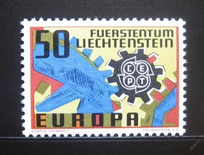 Lichtenštejnsko 1967 Evropa CEPT Mi# 474 0299