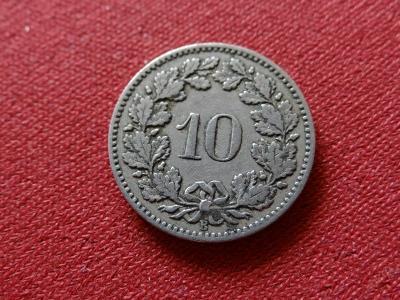 10 RAPP 1881, hezký stav s patinou.