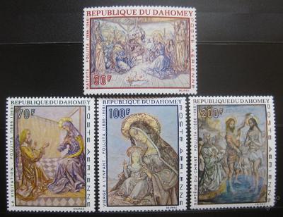 Dahomey 1968 Umění Mi# 364-67 10€ 0405