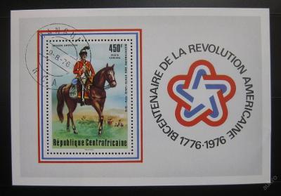 SAR 1976 Americká revoluce Mi# Block 10 0412