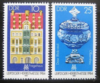 DDR 1984 Lipský veletrh Mi# 2891-92 0394