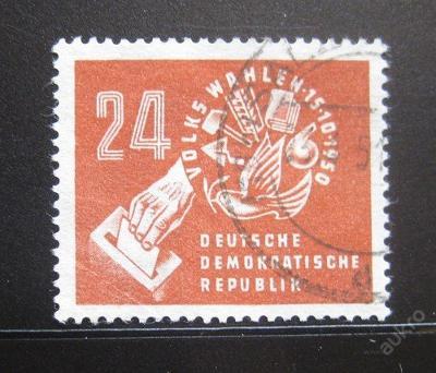 DDR 1950 Volby Mi# 275 10€ 0444
