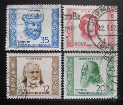 DDR 1952 Osobnosti Mi# 311-14 45€ 0444