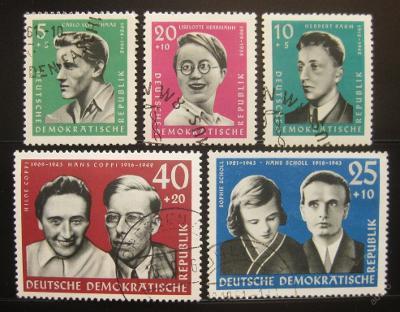 DDR 1961 Portréty Mi# 849-53 7.50€ 0445