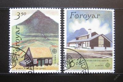 Faerské o. 1990 Evropa CEPT Mi# 198-99 0449