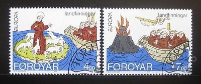 Faerské o. 1994 Evropa CEPT Mi# 260-61 0450
