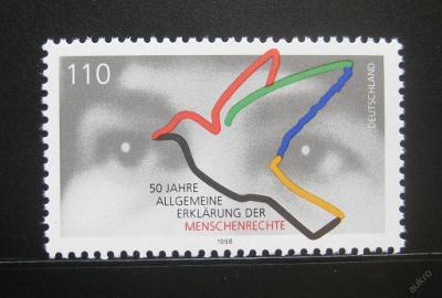 Německo 1998 Lidská práva Mi# 2026 0457