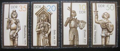 DDR 1989 Sochy Rolanda Mi# 3285-88 0473