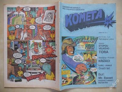 Komiksový časopis - KOMETA - číslo 20.