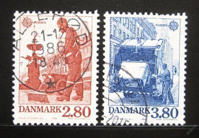 Dánsko 1986 Evropa CEPT Mi# 882-83 0946