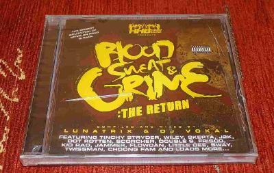 CD Lunatrix, DJ Vokal - Blood, Sweat & Grime