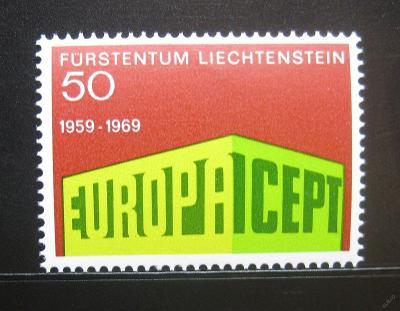 Lichtenštejnsko 1969 Evropa CEPT Mi# 507 0752
