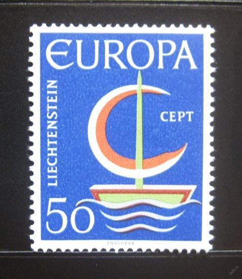 Lichtenštejnsko 1966 Evropa CEPT Mi# 469 0752 - Filatelie