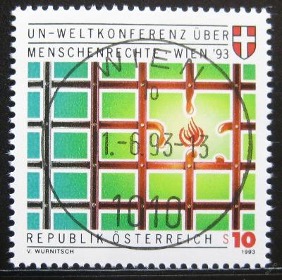 Rakousko 1993 Konference lid. práv Mi# 2099 0751