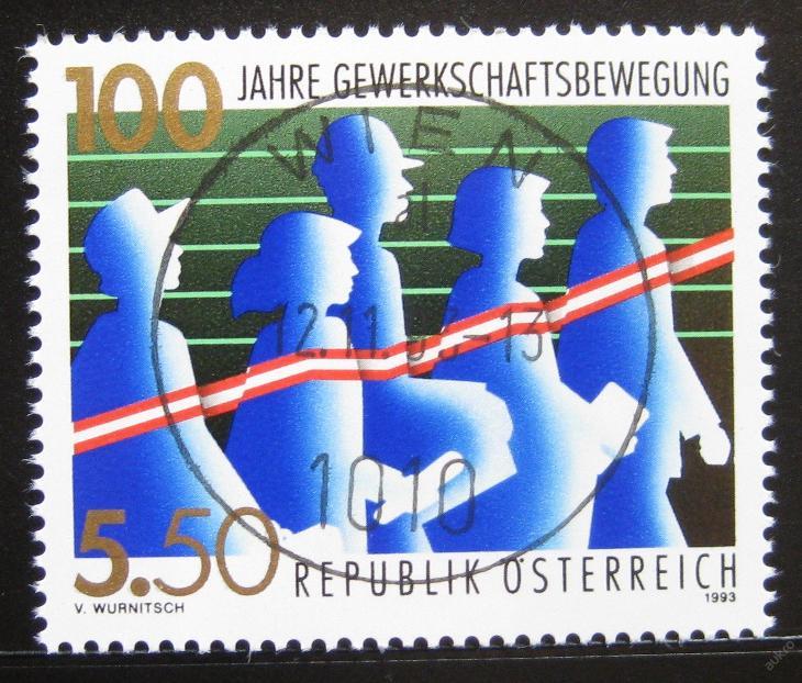 Rakousko 1993 Rakouské odbory Mi# 2112 0751 - Filatelie