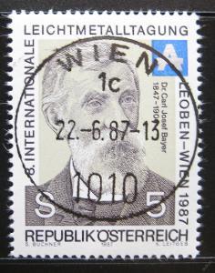 Rakousko 1987 Dr. Karl Josef Bayer Mi# 1889 0751