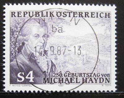 Rakousko 1987 Johann Michael Haydn Mi# 1900 0751