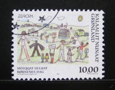 Grónsko 1998 Evropa CEPT Mi# 324 0611